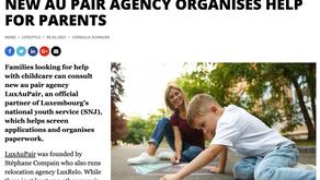 Delano Magazine : New Au Pair Agency Organises Help for Parents