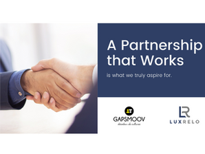 New Partnership: LuxRelo & Gapsmoov
