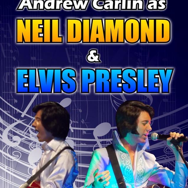 Neil Diamond & Elvis Double Tribute