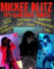 Mickee Blitz | 70's Glam Rock Tribute