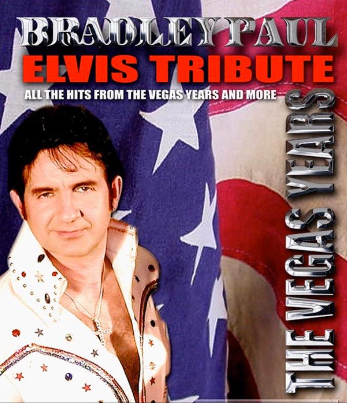 Elvis Presley by Bradley Paul   Emkay Entertainments Agency