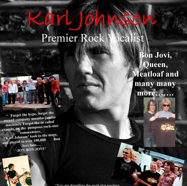 Karl Johnson Rock Vocalist