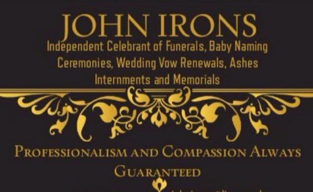 John Irons Celebrant