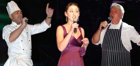 The Secret Singing Waiters