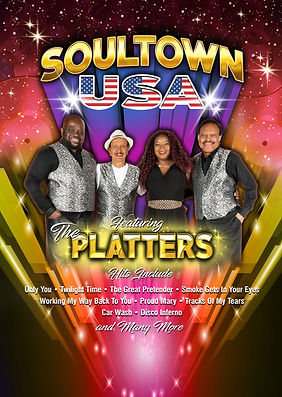 Soultown USA ft The Platters | Emkay Entertainments Agency