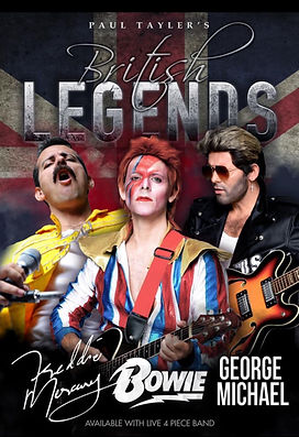 Ultimate British Legends | Emkay Entertainments Agency