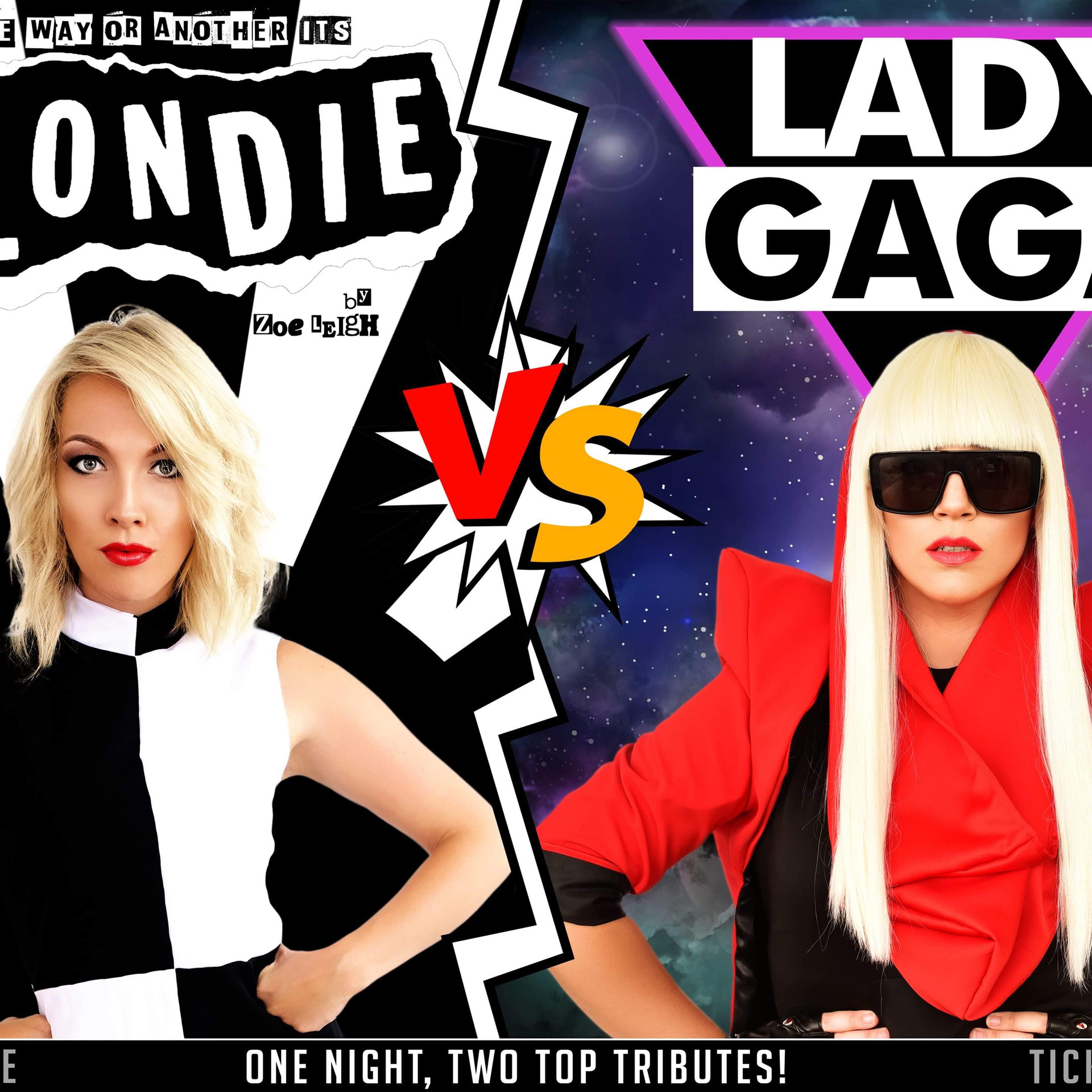 Blondie vs Gaga