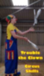 Trouble The Clown | Children's Entertainer