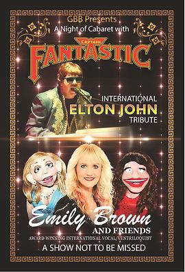 Elton John & Emily Brown | Emkay Entertainments Agency