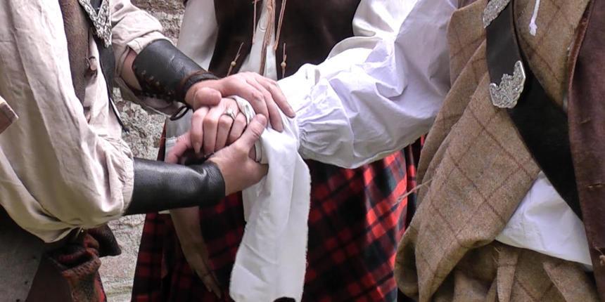 Highland Hand Fasting