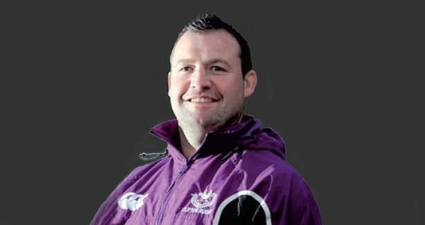 Mark Regan MBE