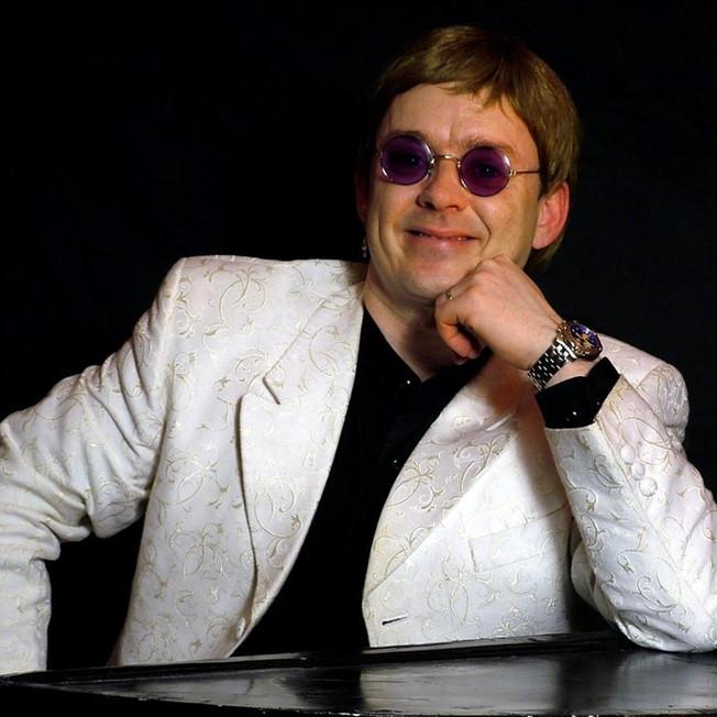 Elton John by Rikki Morgan