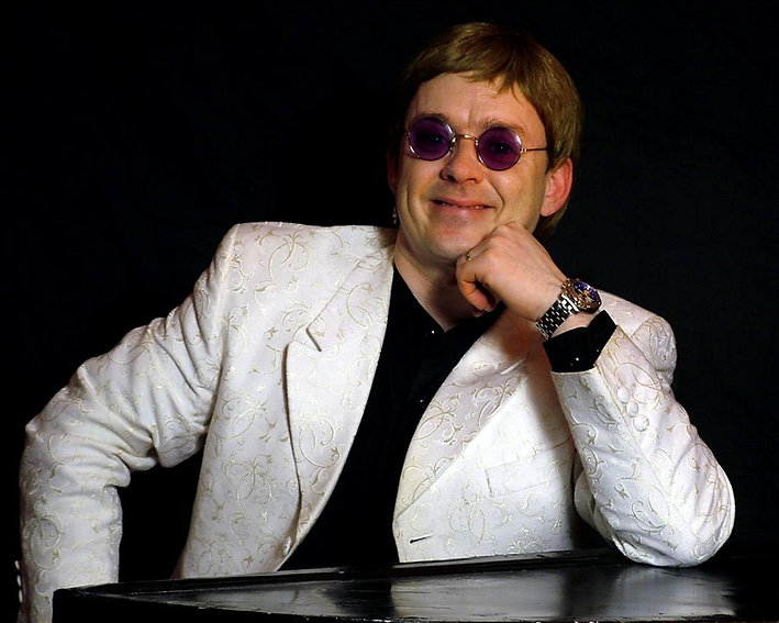 Elton John by Rikki Morgan   Emkay Entertainments Agency