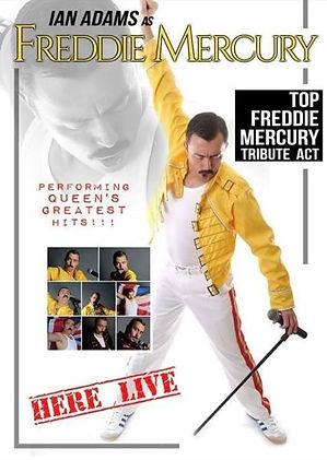 Ian Adams | Freddie Mercury Tribute