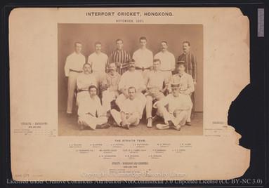 Straits Cricket Team, 1897