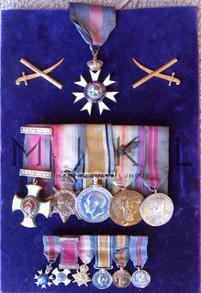 Hubback's Honours & Medals