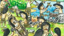 Children Imagine Malaysia's Pre Historic Age