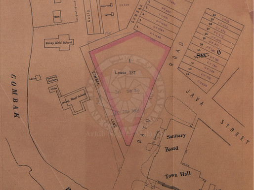 Site Proposed for the FMS Survey Office Building in 1908