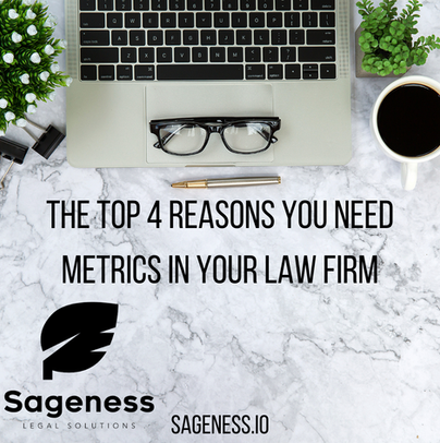 The Top 4 Reasons You Need Metrics in Your Law Firm.
