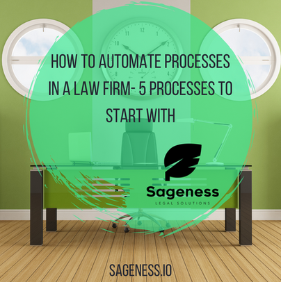 How to Automate Processes in a Law Firm + 5 Processes to Start With