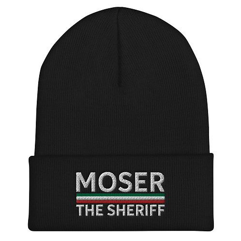 Moser Embroidered Beanie
