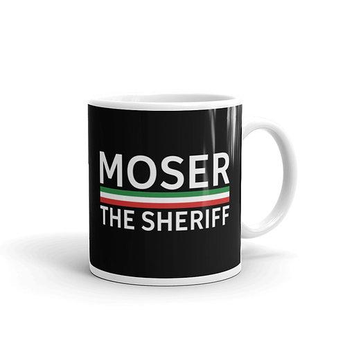 Moser black glossy mug 11 oz.