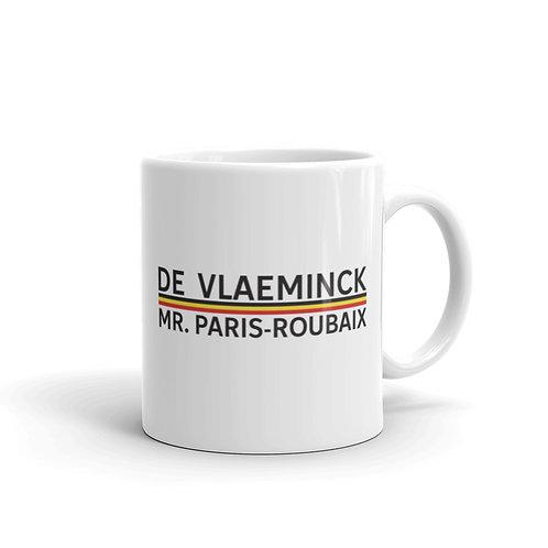 De Vlaeminck white glossy mug 11 oz.