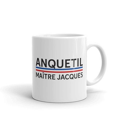 Anquetil white glossy mug 11 oz.