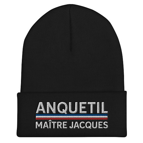 Anquetil Embroidered Beanie