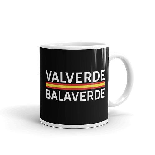 Valverde black glossy mug 11 oz.