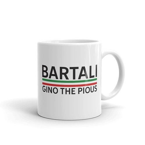 Bartali white glossy mug 11 oz.