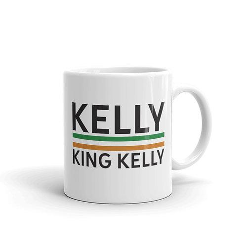 Kelly white glossy mug 11 oz.
