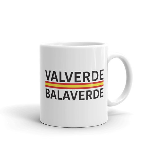 Valverde white glossy mug 11 oz.