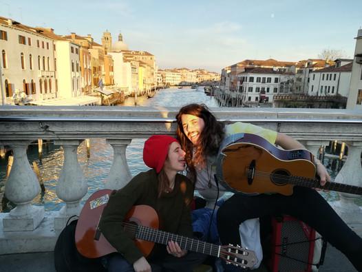 Busking Venice