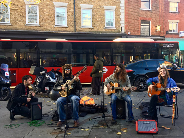 Busking Richmond