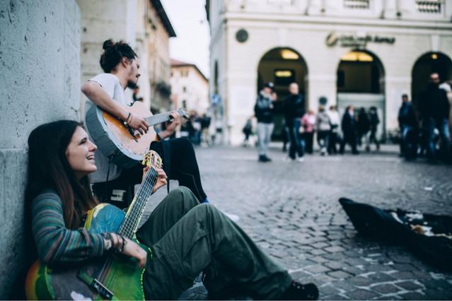 Busking Treviso
