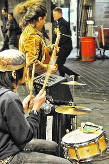 Busking feat St.Drums