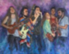 everest rock, everest band, manu brio, guille bill morata, nathan ridley, javi perez, jordi woods, jordi bosc, Roby saxo, rock, rock band, barcelona rock, money album