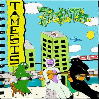 Zurito album, tamesis, river thames music, london busker, spanish guitar, javi perez, teresa sarda, funkyal, alan ashton, south london music, happy music,