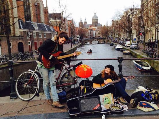 Busking Amsterdam