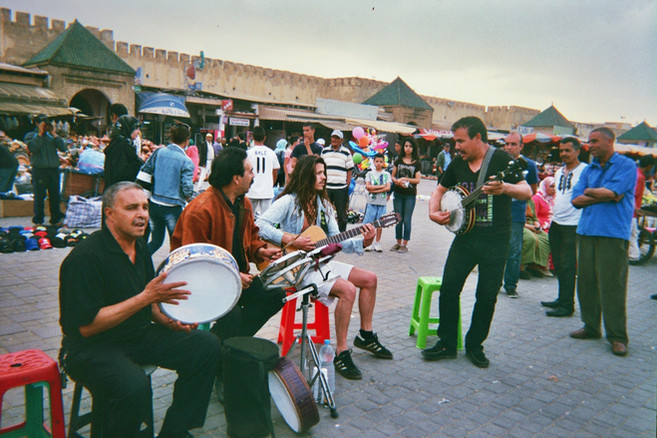 Busking Morrocco