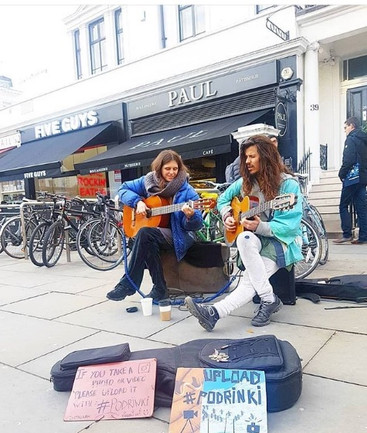 Busking South Kensington