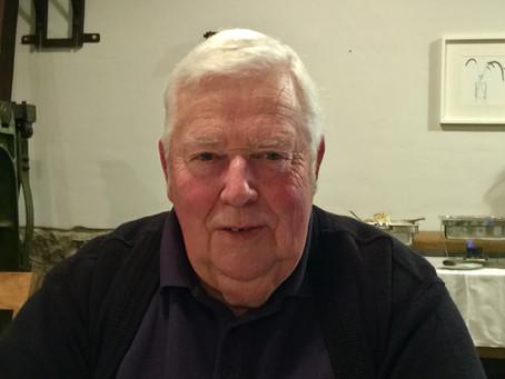Ehrenmitglied Klaus Kamin wurde 80