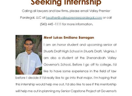Seeking Internship