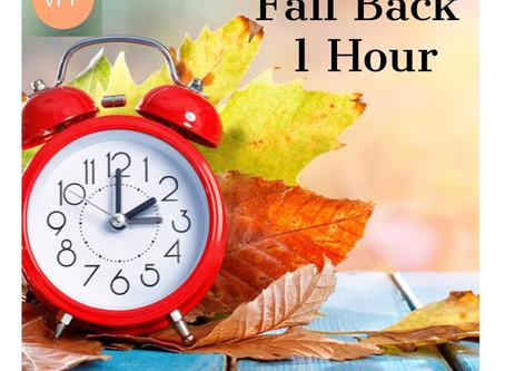 Fall Back 1 Hour