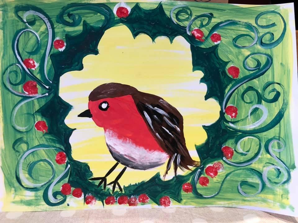 child's robin