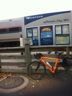 Cycling through Missouri