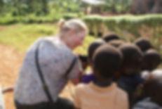 community visit in Uganda