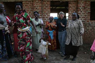 Visit a development project in Uganda