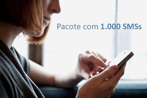 Pacote com 1.000 SMSs
